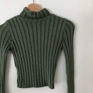 Urban Outfitters Cropped Turtleneck